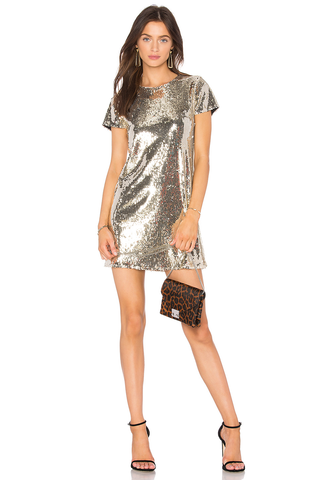 Line and Dot Soleil Sequin Dress