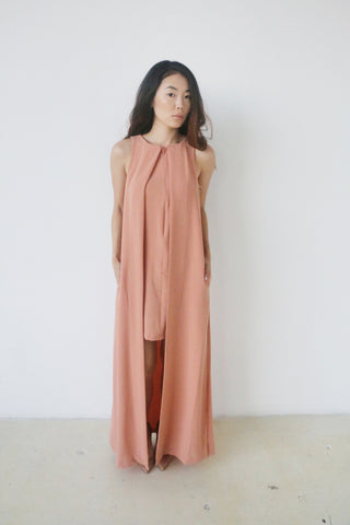 Do + Be sand double layer dress