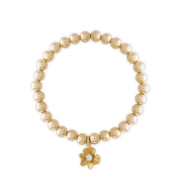 Alexa Leigh Golden Flower Bracelet