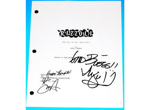 "Rizzoli Isles Signed Pilot Script TV Autograph ""See One, Do One, Teach One"" Angie Harmon & Sasha Alexander"
