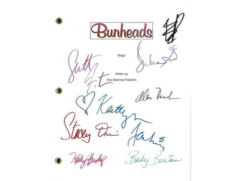 Bunheads Movie Script Signed Screenplay Autographed: Sutton Foster, Kaitlyn Jenkins, Julia Goldani Telles, Bailey Buntain, Emma Dumont