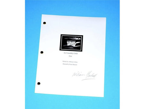 "Doctor Who Pilot Episode ""An Unearthly Child"" 1963 TV Script, Autographed By William Hartnell"