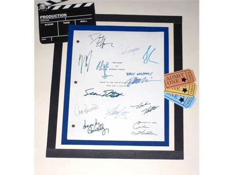 The Hulk Movie Script Signed Screenplay Autographed: Eric Bana, Jennifer Connelly, Sam Elliott, Stan Lee, Lou Ferrigno, Josh Lucas
