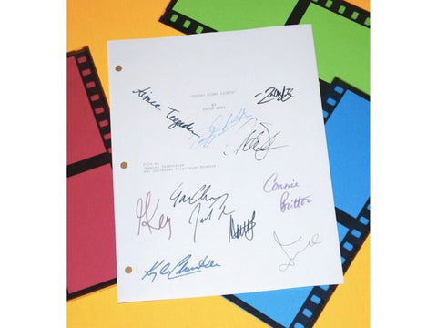 Friday Night Lights Pilot Episode TV Script Autographed: Kyle Chandler, Connie Britton, Gaius Charles, Zach Gilford, Minka Kelly & More
