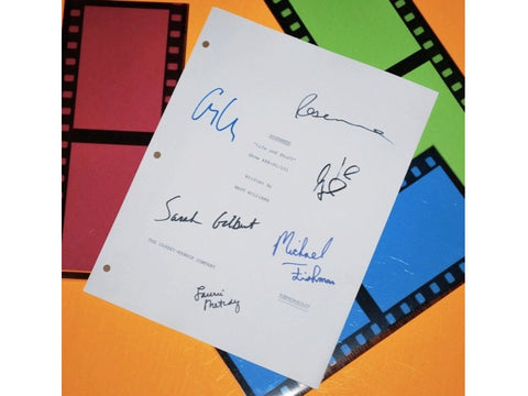 "Roseanne ""Life and Stuff"" Episode Autographed: Roseanne Barr, John Goodman, Sara Gilbert, George Clooney, Laurie Metcalf, Alicia Goranson"