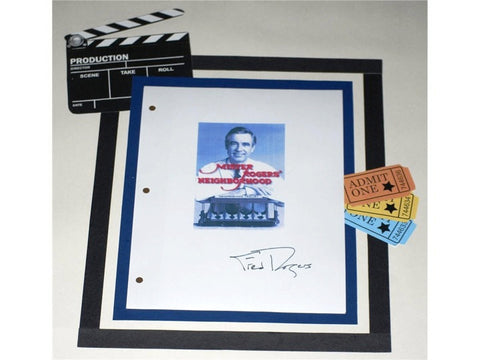 Mr. Rogers Neighborhood Season 20 Episode 3 Autographed: Fred Rogers