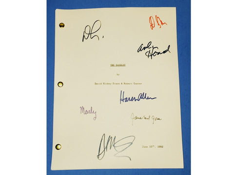The Sandlot Movie Script 1993 Signed James Earl Jones, Denis Leary, Karen Allen + more