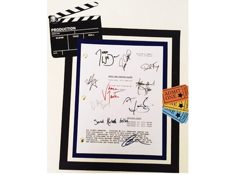 "Buffy the Vampire Slayer Musical Script ""Once More, with Feeling"" Signed Joss Whedon,  Sarah Michelle Gellar, Nicholas Brendon"