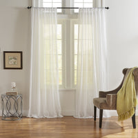 Asher Cotton Voile Sheer Window Curtain