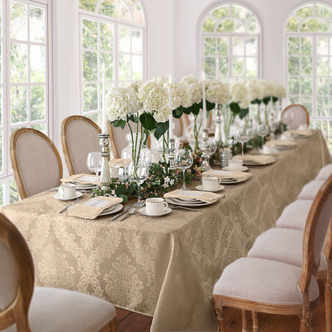 Barcelona Damask Tablecloth