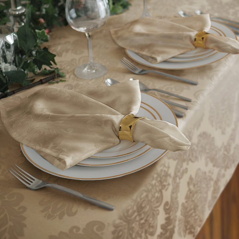 beige set of 4 napkins