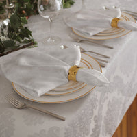 white set of 4 napkins