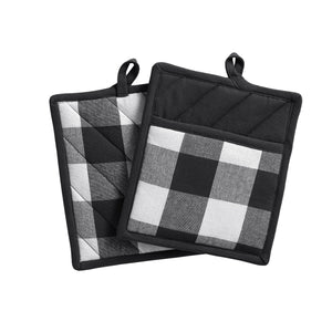 Farmhouse Living Buffalo Check Pot Holder Pair