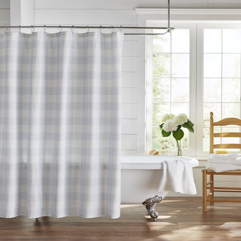 Farmhouse Living Buffalo Check Shower Curtain