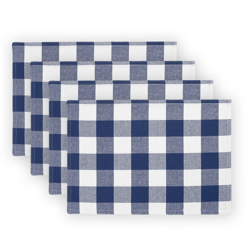 Farmhouse Living Buffalo Check Placemats, Set of 4