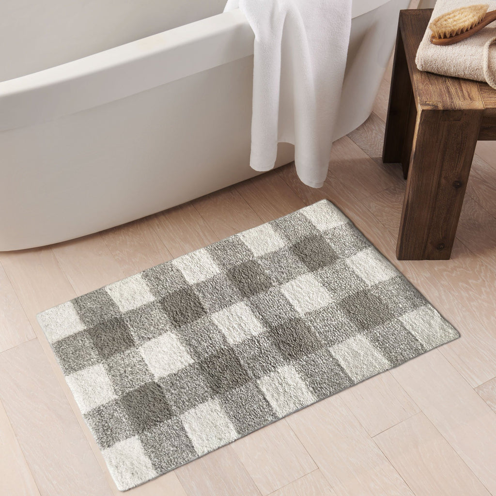 Farmhouse Living Buffalo Check Bath Mat