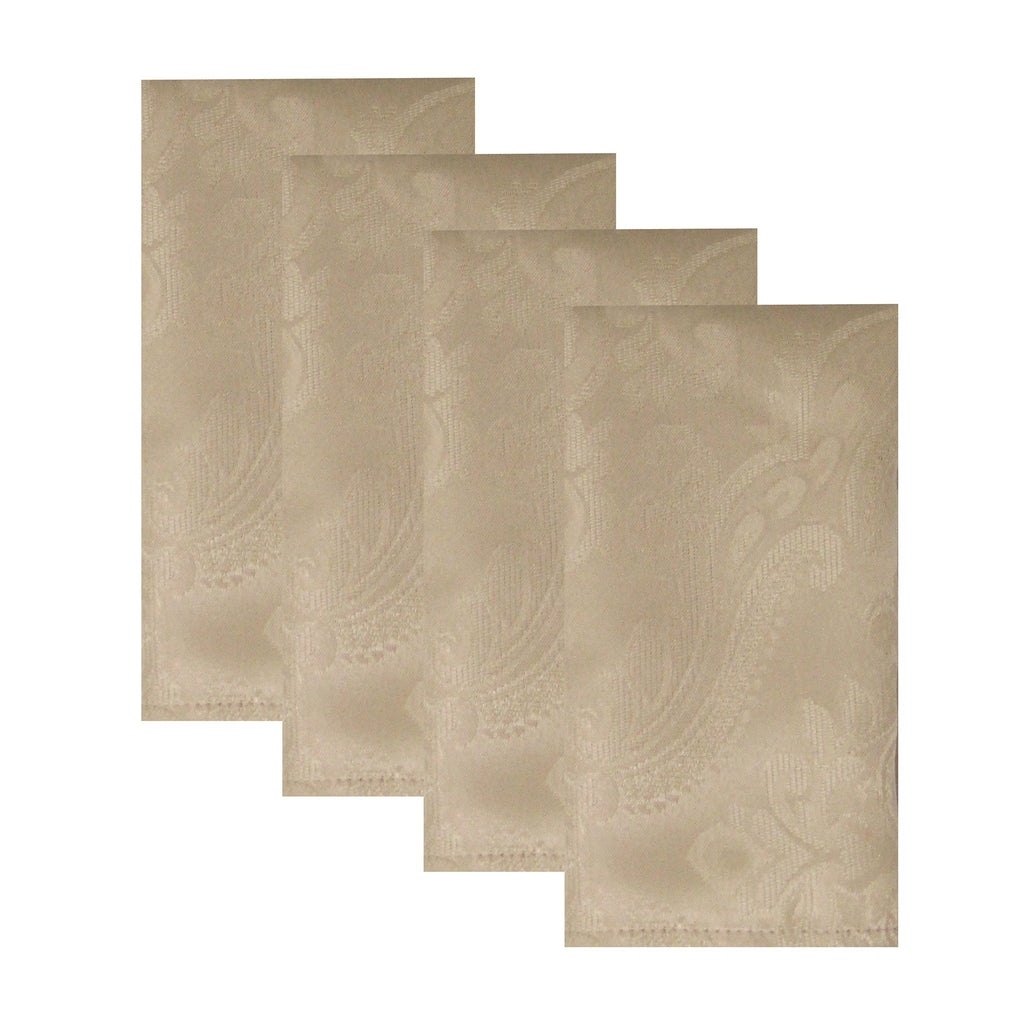 Caiden Elegance Damask Napkin, Set of 4