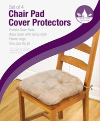 Vinyl Chairpad Protector (Set of 4)