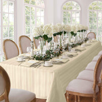 Denley Stripe Tablecloth