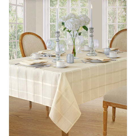 Elegance Plaid Tablecloth