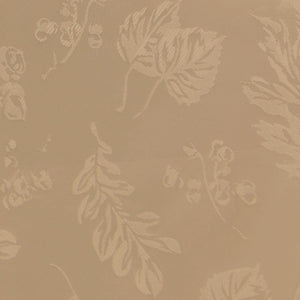 Elegant Woven Leaves Jacquard Damask Tablecloth