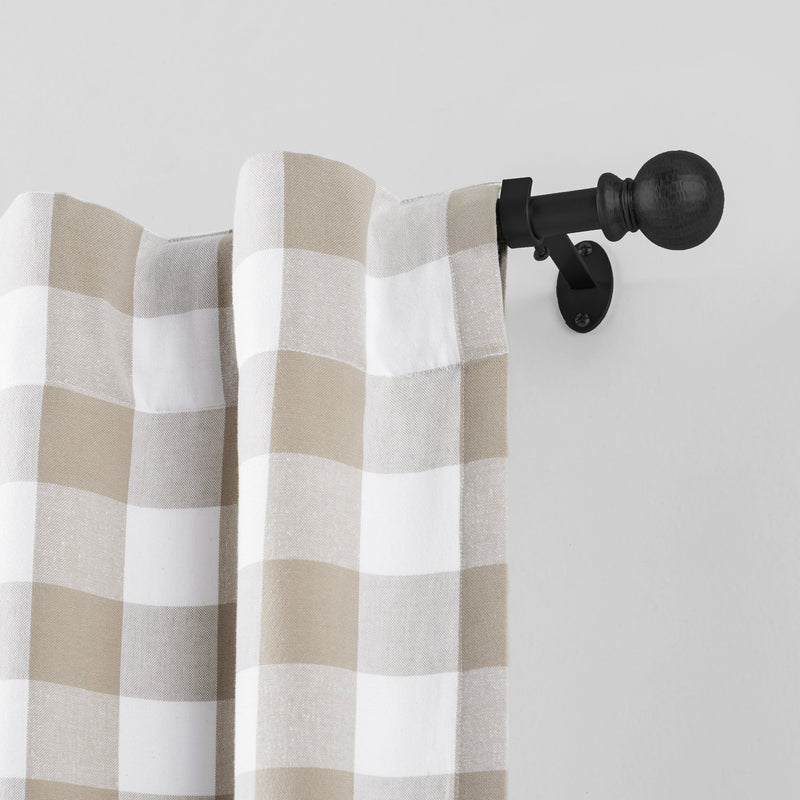 Farmhouse Ball Curtain Rod
