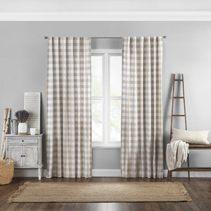 Farmhouse Living Buffalo Check Window Curtain