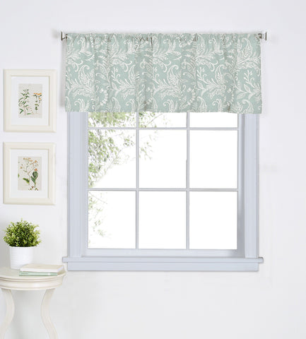 Flora Rod-Pocket Window Valance