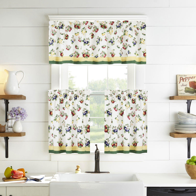 Villeroy & Boch French Garden Kitchen Tier Set and Valance
