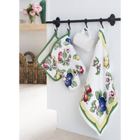 Villeroy and Boch French Garden Kitchen Towel, Set of 2