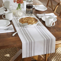 Farmhouse Living Homestead Stripe Table Runner