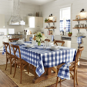 Farmhouse Living Buffalo Check Tablecloth