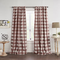 Grainger Buffalo Check Blackout Window Curtain