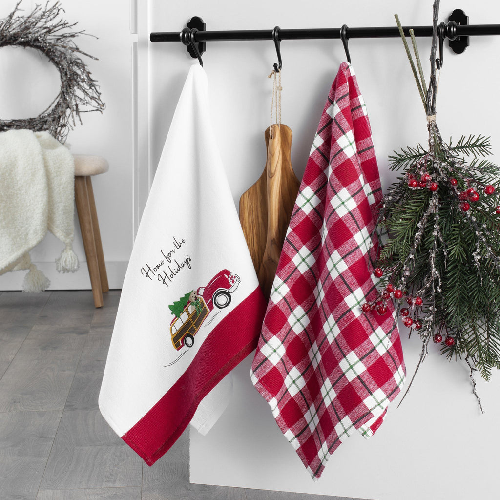 Home for the Holidays Kitchen Towels, Set of 2