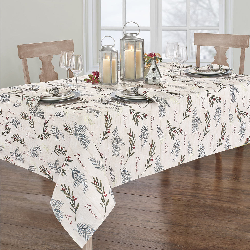 Holiday Tree Trimmings Tablecloth