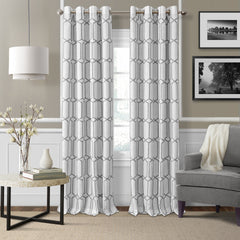 84 inch gray curtain