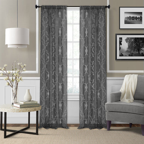 Montego Rod Pocket Sheer Window Collection
