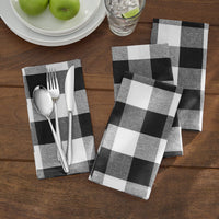 Farmhouse Living Buffalo Check Napkins, Set of 4