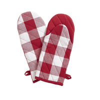Farmhouse Living Buffalo Check Oven Mitt Pair