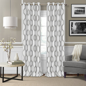grommet window curtain panel