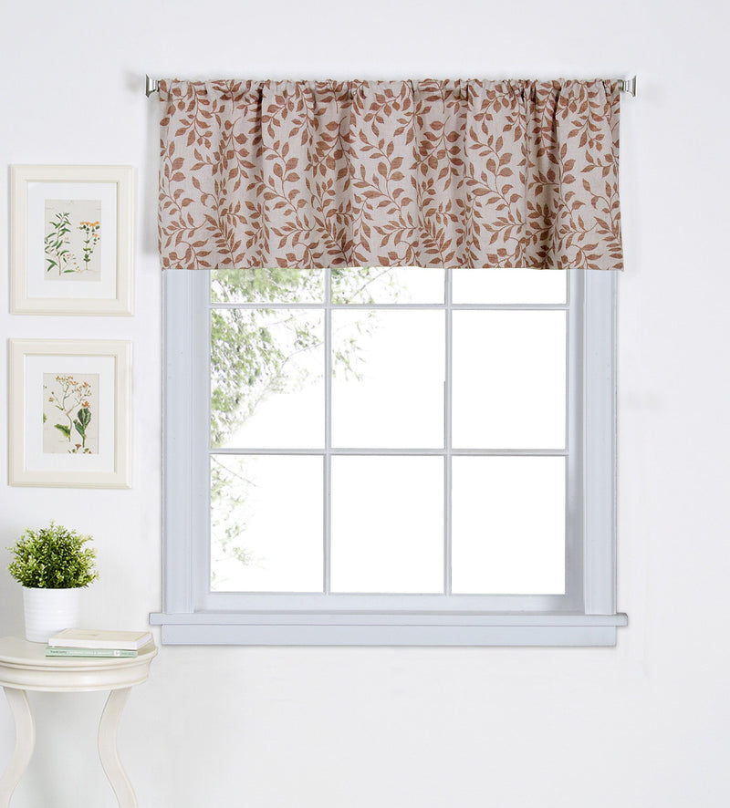 Serene Rod-Pocket Window Tiers & Valances (Sold Separately)