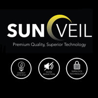 SunVeil Extra Wide Thermal Blackout Curtain Liner