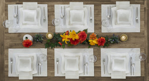 Villeroy & Boch New Wave Metallic Border Placemat, Set of 4