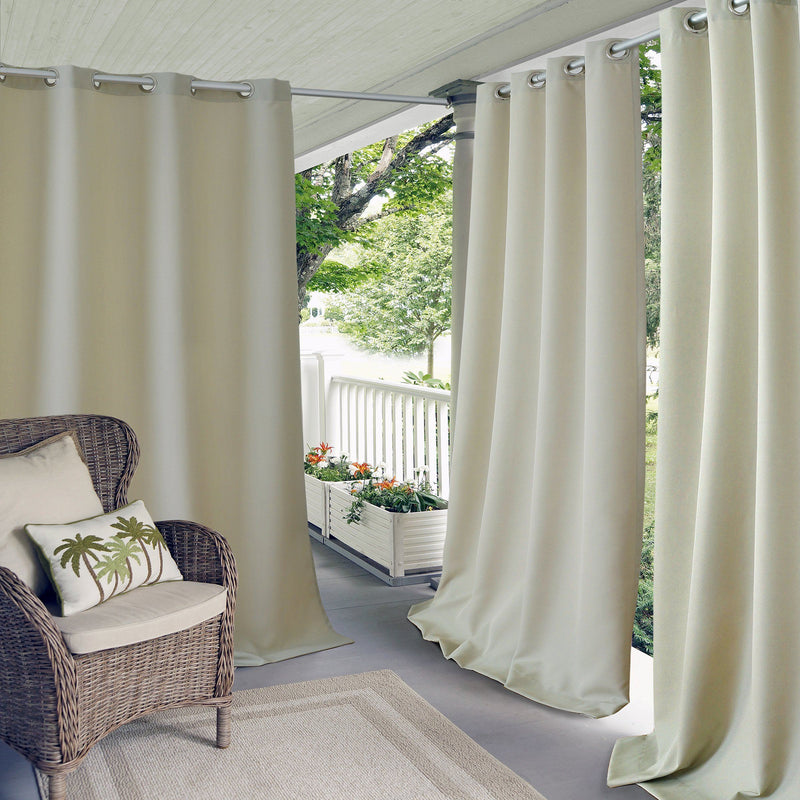 indoor outdoor curtain panel