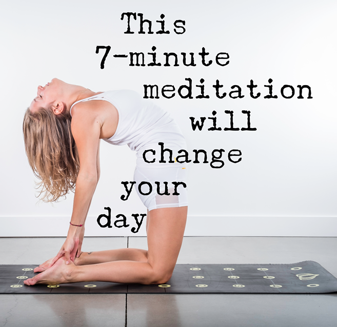 This 7-minute Mediation Does Wonders