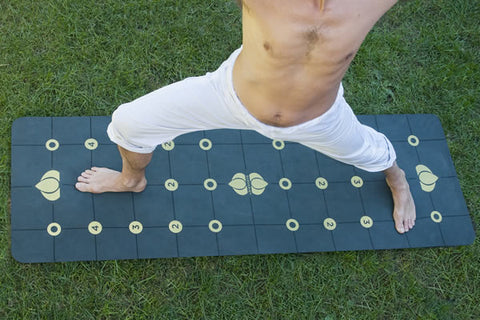 Gurugrid Yoga Mat Outside