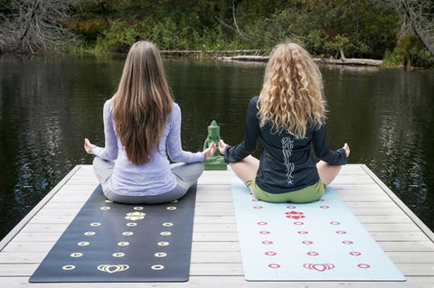 Gurugrid Yoga Mat Colors