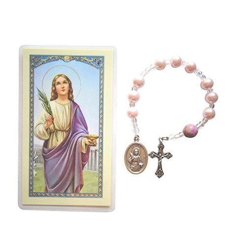 Chaplet of Saint Lucy Patron Saint of People with Vision Problems