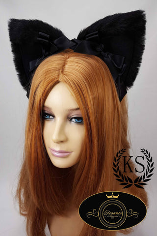 Black Elegance Ears