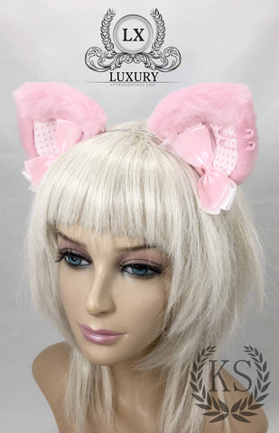 Pink Punkish Luxury Ears